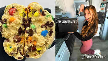 My Cookie Dealer delivers massive half-pound cookies and ship to customers around the world