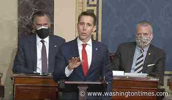 Senate Democrats file ethics complaint against Cruz, Hawley