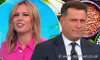 Today show host Karl Stefanovic is called out for his outstanding debt live on air