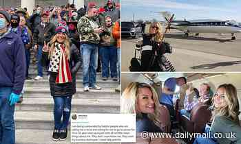 Texas realtor who took private jet to MAGA riots begs for donations