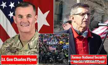Army general brother of Michael Flynn WAS involved in Capitol riot response