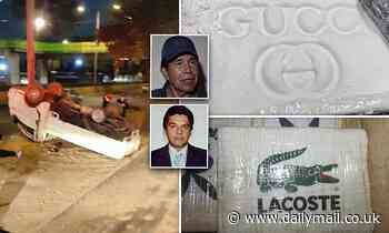 Mexico City authorities seize 'belonging' to fugitive drug lord wanted by the DEA for the