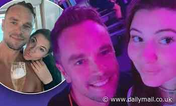 Francesca Packer Barham cosies up to her new Pilates instructor boyfriend Adam Cooper for a selfie