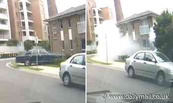 Holroyd, Sydney: Vintage Rolls Royce ploughs into a family home in