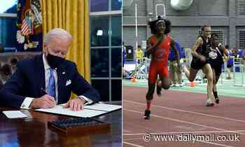 Biden signs divisive executive order pushing schools to include transgender athletes in girls' sport