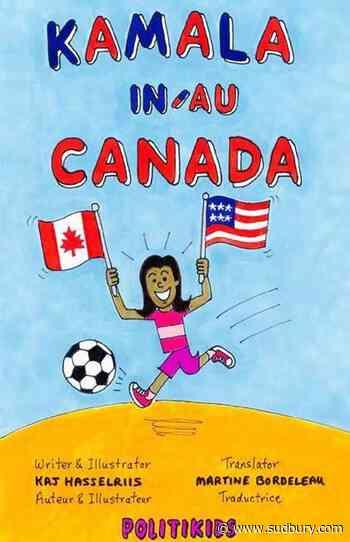 Cartoonist elated 'Kamala in Canada' included in Canadian Biden inauguration event