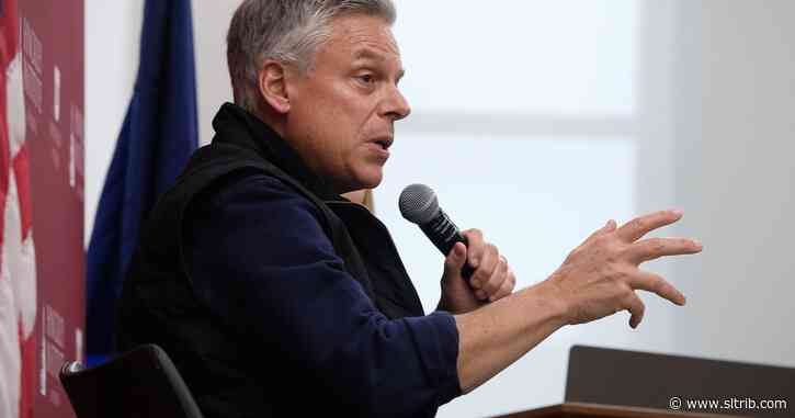 Former Utah Gov. Jon Huntsman to lead the state's business-promoting World Trade Center