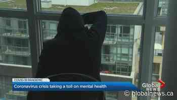 Coronavirus pandemic taking toll on mental health of Ontario residents