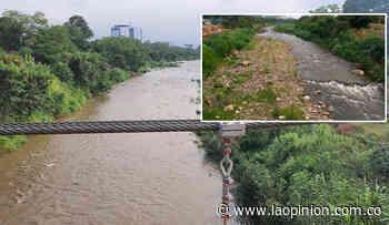 Mejora el nivel del río Pamplonita | La Opinión - La Opinión Cúcuta