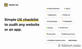 DIY UX Audit - Uncover 90% of the usability issues on your website