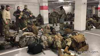 Thousands of National Guardsmen banished to parking garage