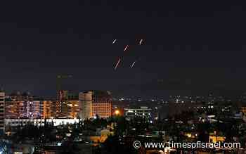 Syrian media reports Israeli airstrikes near western city of Hama
