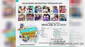 Huanta: Dictarán talleres virtuales para promover la creatividad de niños y adolescentes - Jornada