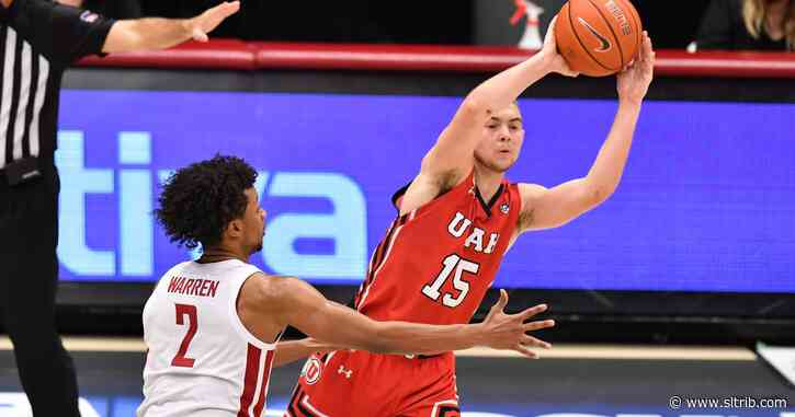 Larry Krystkowiak hears the outside noise, but Rylan Jones rises above it as Utah hoops wins at Washington State