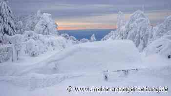 Wetter: Schnee am Sonntag bis ins Flachland