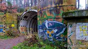 Abandoned Soviet nuclear missile base hidden in a Polish forest