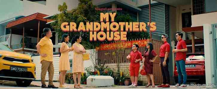 Singtel's 2021 Chinese New Year ad brings back funny family in 'My Grandmother's House'