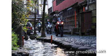 "Unbeaten Japan: ""The Dragon Route"" motorbike tour across the heart of Japan"