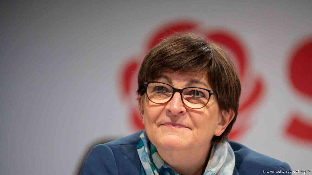 Saskia Esken ist Online-Gast - Wetterauer Zeitung