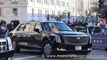 """The Beast"" gehört jetzt Joe Biden: So schützt der ""Cadillac One"" den US-Präsidenten im Notfall"