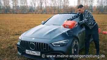 Influencer fackelt eigenen AMG Mercedes ab – Das Video geht viral