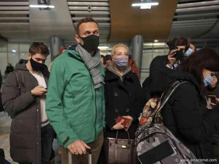 Aumentan arrestos de opositores en Rusia antes de manifestaciones por Navalny