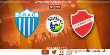 AO VIVO! Com time reserva, Vila Nova enfrenta o Crac em Ipameri - Sagres Online