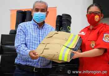 Amazonas: Bomberos de Chachapoyas reciben nueva indumentaria - INFOREGION