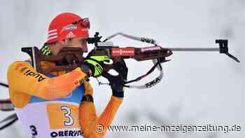 Biathlon in Antholz: Peiffer vergibt das Podest beim letzten Schießen