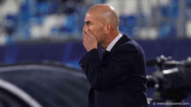 Real Madrid confirmó que Zidane dio positivo por covid-19