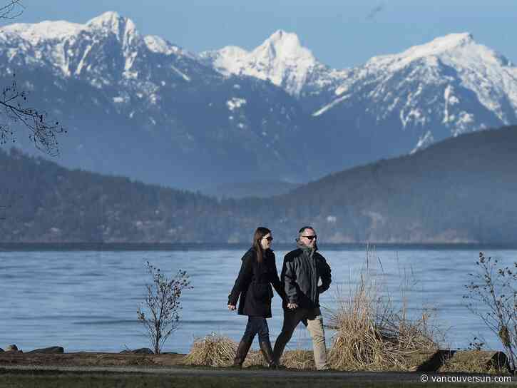 Vancouver Weather: Sunny and cold