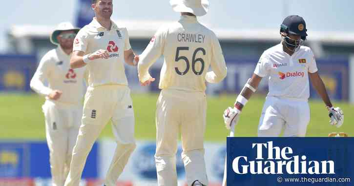 Jimmy Anderson makes Sri Lanka his happy hunting ground, for a change | Andy Bull