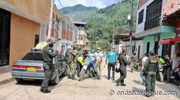 Soldados y Policía se tomaron Rioblanco y capturaron a un hombre de 39 años - Ondas de Ibagué