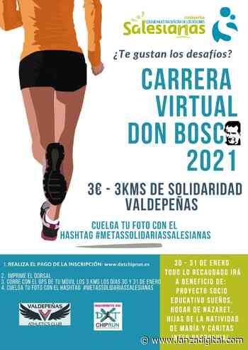 El colegio Nuestra Señora de los Dolores y el Valdepeñas Athletics Club organizan una carrera virtual solidaria - Lanza Digital - Lanza Digital