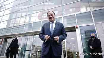 83,35 Prozent dafür: Briefwahl bestätigt Laschet als CDU-Chef deutlich