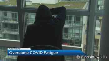 How to overcome COVID-19 fatigue and winter blues