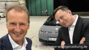 """VW-Chef Diess macht Elon Musk Ansage auf Twitter – User lästern: """"Herr, lass Hirn regnen, peinlich, Diess dissed"""""""