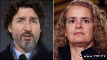 Trudeau spoke to the Queen this morning following Payette's sudden resignation