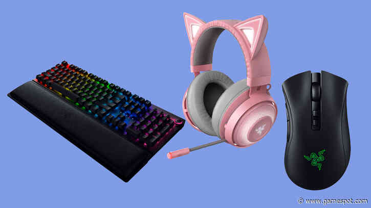 Razer PC Accessories Are Up To 50% Off Today Only: Gaming Keyboards, Mice, And More