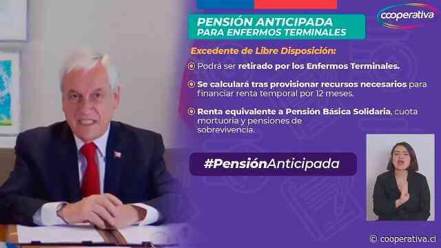 Piñera promulgó ley que permite a enfermos terminales retirar sus ahorros previsionales