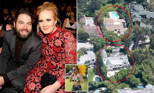 Adele and ex-husband Simon Konecki reach divorce settlement - Daily Mail