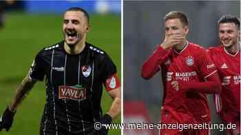 Türkgücü gegen FC Bayern im Live-Ticker: Türkgücü setzt Nadelstiche - Sliskovic vergibt kläglich
