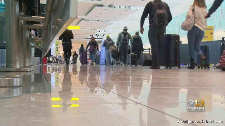 BWI Airport Using Technology To Measure Whether Travelers Are Properly Following Social Distancing Rules