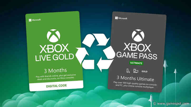 This Xbox Live Gold Deal Lets Subscribers Save Big On Game Pass Ultimate