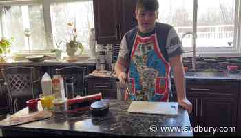 WATCH: Sudbury teen staves off pandemic boredom by starting an online cooking show
