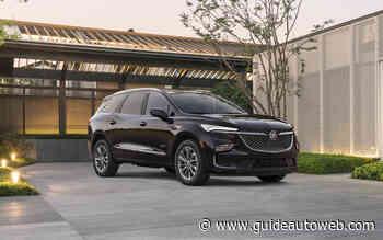 Buick dévoile un premier aperçu de l'Enclave 2022
