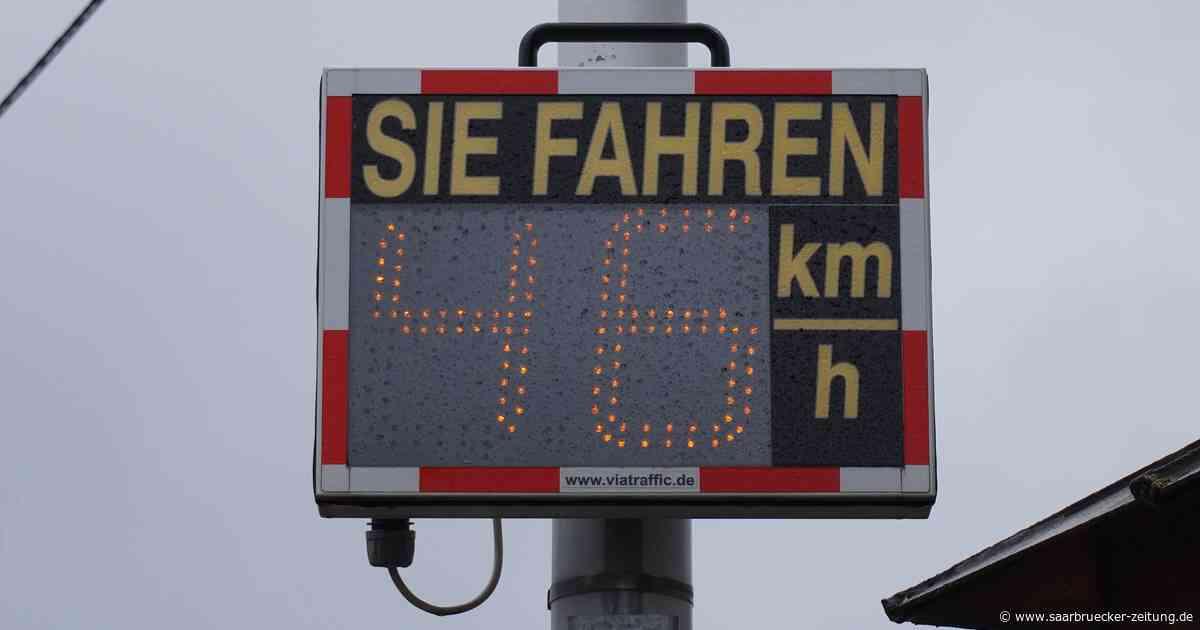SPD Bexbach fordert Geschwindigkeitstafeln - Saarbrücker Zeitung
