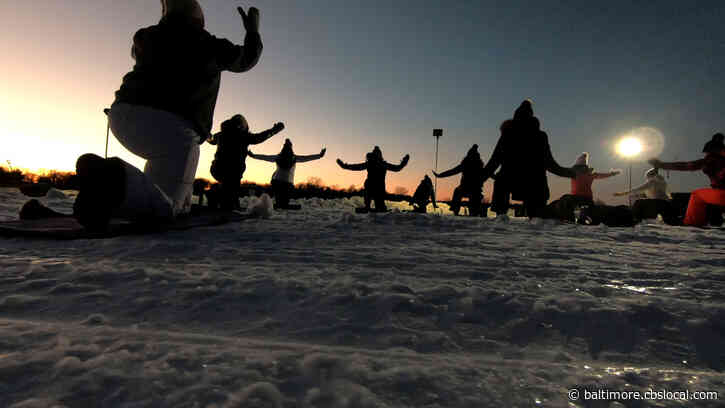 Ice Yoga: The Ultimate In Mind Over (Frozen) Matter