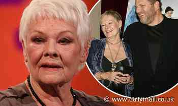 Dame Judi Dench 'feels acutely' for victims of Harvey Weinstein