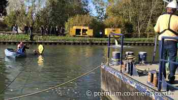 précédent Le fond du canal colmaté provisoirement entre Thourotte et Longueil-Annel - Courrier picard